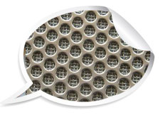 304 stainless steel shower drain mesh plate