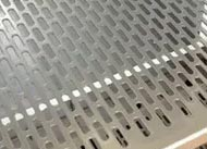 316 galvanized stainless steel Perforated decorative sheets