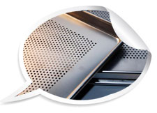 Air condition guard 316 stainless steel perforated sheet