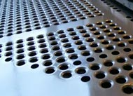 AISI ASTM 202 2B Surface Stainless Steel Perforated Metal Sheet
