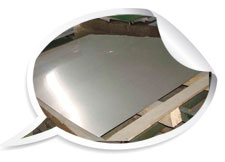 ASTM A240 Duplex 316 2B BA No.4 Finished stainless steel plate