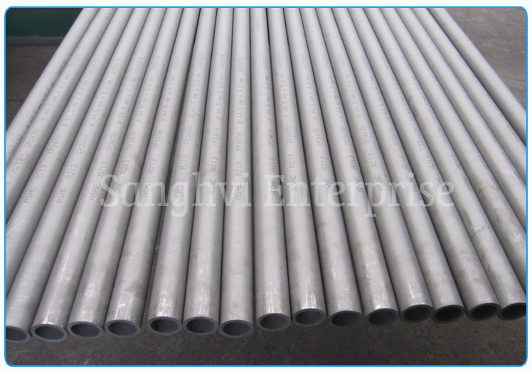 Original Photograph Of 202 Stainless Steel Seamless Tube At Our Warehouse Mumbai, India