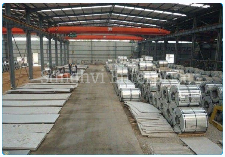 Original Photograph Of 316 Stainless Steel Coils At Our Warehouse Mumbai, India