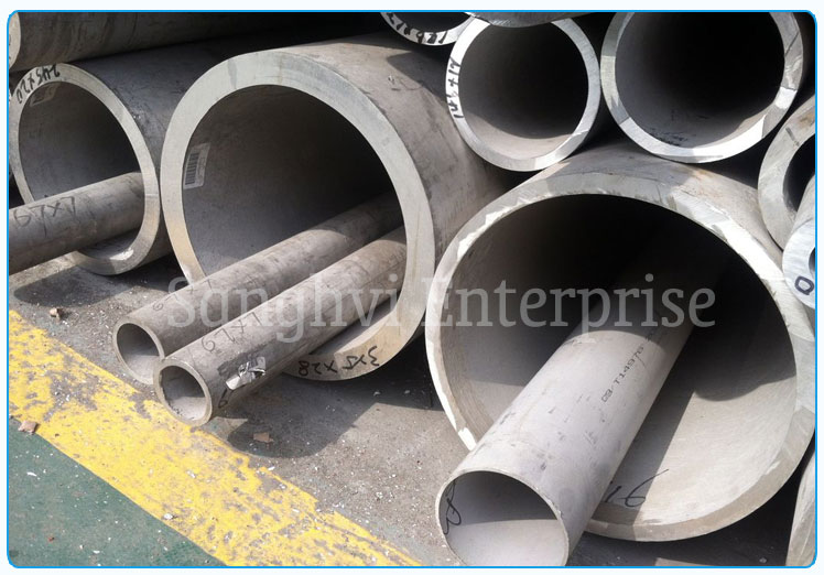 Original Photograph Of 316 Stainless Steel Tube At Our Warehouse Mumbai, India