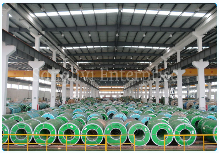 Original Photograph Of 420 Stainless Steel Coils At Our Warehouse Mumbai, India