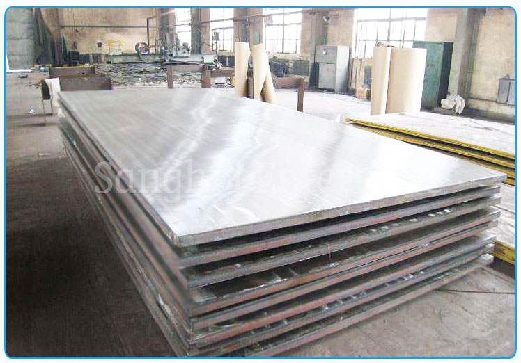 Original Photograph Of 420 Stainless Steel Plate At Our Warehouse Mumbai, India