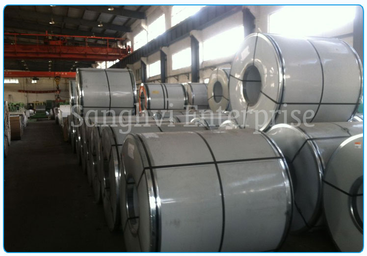 Original Photograph Of Stainless Steel coil Ready Stock At Our Warehouse