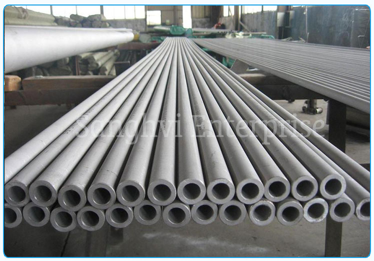 Original Photograph Of Stainless Steel Pipe Ready Stock At Our Warehouse
