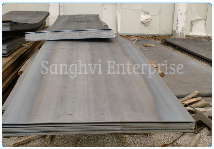 Original Photograph Of Stainless Steel plate Ready Stock At Our Warehouse
