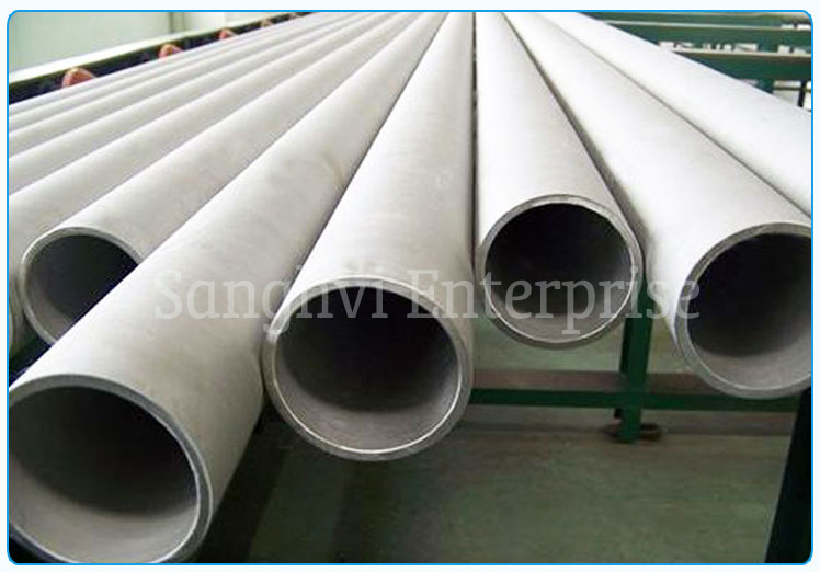 Original Photograph Of 316 Stainless Steel Seamless Tube At Our Warehouse Mumbai, India
