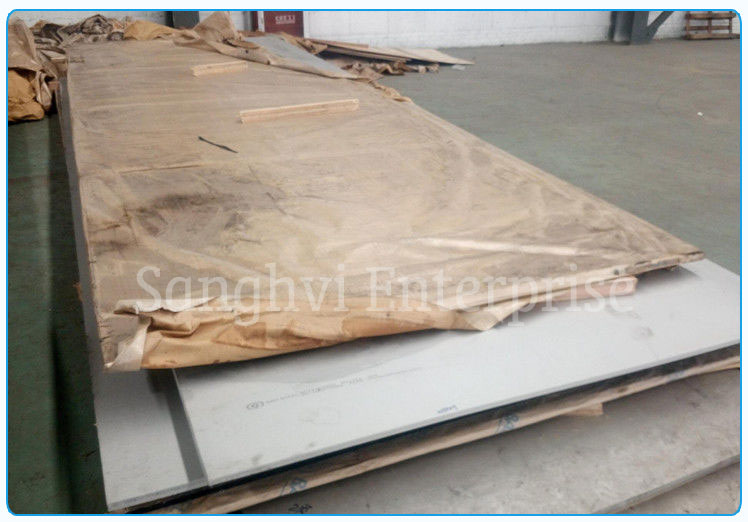 Original Photograph Of 310 Stainless Steel Sheet At Our Warehouse Mumbai, India
