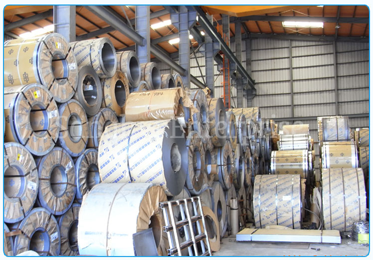 Original Photograph Of 416 Stainless Steel Coils At Our Warehouse Mumbai, India