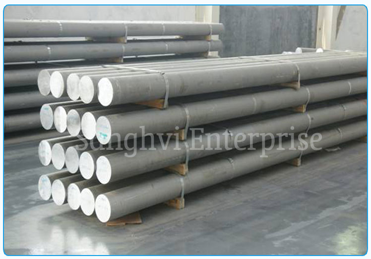 Original Photograph Of 304 Stainless Steel Round Bar At Our Warehouse Mumbai, India